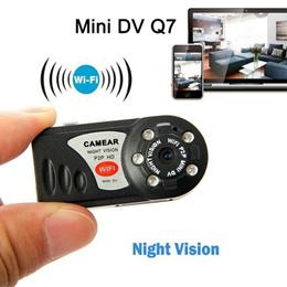 Q5 Q7 Mini Camera P2P WiFi Micro DV Security IP Wireless Remote Camera Video Recorder HD Photography