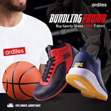 Ardiles Unisex Bundling Promo Beli Sepatu GRATIS T-Shirt