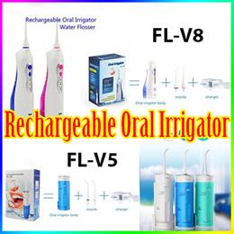 FL-V5 FL-V8 Rechargeable Oral Irrigator/ 360° Rotated Nozzle Water Flosser/ Waterpik Irrigator / Gum