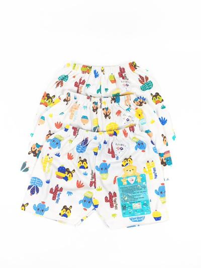 3pcs LIBBY Baby Pants MOTIF Shorts (S, M, L)