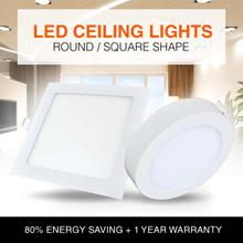 1 Year Warranty★FREE SG Shipping★LED Ceiling Light★6W 9W 12W 15W 18W 25W★80% Energy Saving★SG Seller