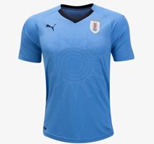 HOT - POPULAR Uruguay 2018 World Cup Home Mens Football Jersey