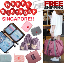 【FREE SHIPPING】✈️All you need travel bag organizer foldable bag pouch wallet luggage