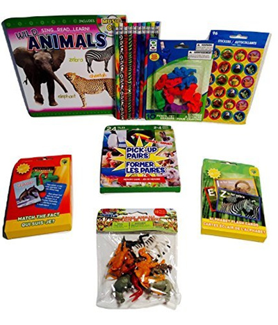 Kids Games Wild Animals National Geographic Kids Food Chain and Match The  Fact Card Games, Pick