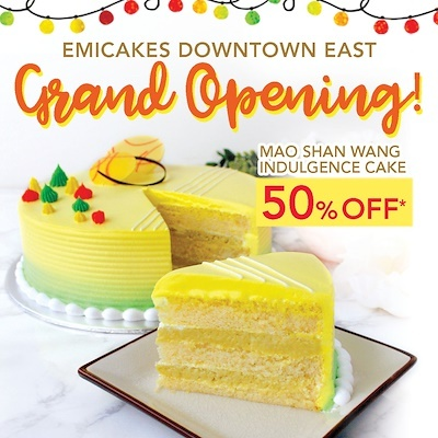 Emicake promotional giveaways