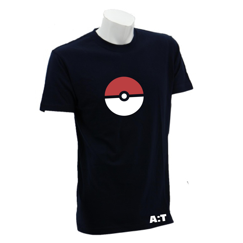 8129134c ... qoo10 pokeball shirt men s clothing ...