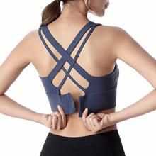 Sports Bra Push Up Underwear Women Fitness Solid Yoga Crop Top Bras