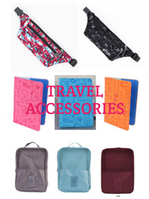 Travel luggage shoe bag waist belt bag passport holder cover
