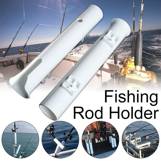 Fishing Rod Holder Rack Tool Mount Socket Tube Link Tackle Marine Boat