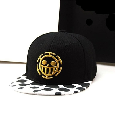 Anime One Piece Trafalgar Law Sign Skull Head Baseball Caps Sunhat Cosplay  Hat 540332d35e9d
