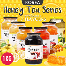 ♥7Types♥ In Singapore★ Korean Honey Citron Tea★1kg Big Size/Korean Food/Drink /Tea.$7.90 Healthy