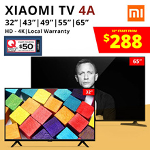 [READY STOCK] Xiaomi Mi TV 4A  [32 / 43 / 50 / 55 / 65 inch] | Xiaomi Mi Home Theater System