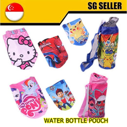 kids water bottle pouch cartoon design with sling strong quality cute and beautiful print