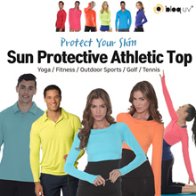 [Bloq.UV] USA Hot Item! UV Protective Athletic Tops / Yoga / Fitness / Outdoor Sports / Swimming