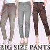 PLUS SIZE PANTS - BIGSIZE FIT TO XL-XXL