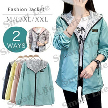 2018 Women's autumn coat / water proof Jacket / Casual jacket / 6colors / Winter coats/2ways wear