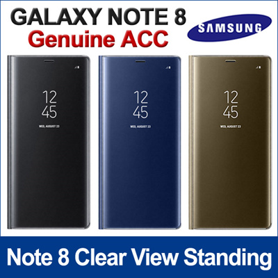 samsung note 8 clear view standing cover