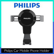 Philips Universal Car Mobile Phone Holder - DLK35008/ Stable and Firm/ Keep Driving Safe