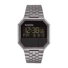 NIXON RE-RUN ANALOG A158632 GREY MENS WATCH