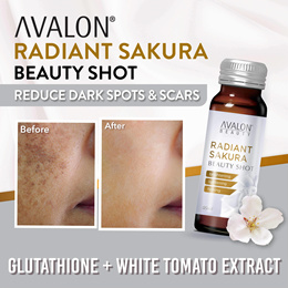 WHITEN N BRIGHTEN | AVALON Radiant Sakura Beauty Shot | Reduce pigmentation n scars