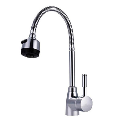 Modern 360 Rotating Kitchen Sink Basin Swivel Mixer Taps Spout Hot Cold Faucet