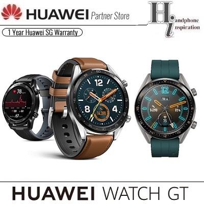 HuaweiHuawei Watch GT ( Active/Classic/Sport ) Smart Watch | 1 Year Huawei  Singapore Local Warranty
