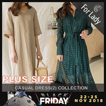 ♥17th Nov Update ♥Korean Style♥ Linen / Casual / LOOSE Fit  / Plus Sizes