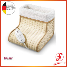 Beurer FW20 Cosy Foot Warmer Beige | Electric Foot Warmer for Men and Women with Cold feet | Perfect