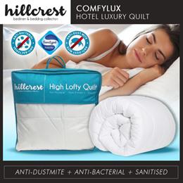 HillCrest ComfyLux Hotel Luxury Quilt Fluffy Soft Anti Dustmite