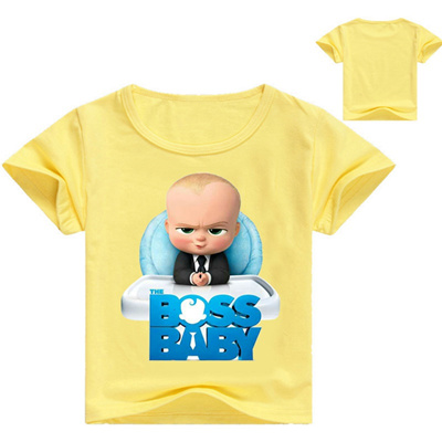 3813c4255128 Qoo10 - sale Z  Y 2-16Years Bobo-choses-2018 The Boss Baby T Shirts ...