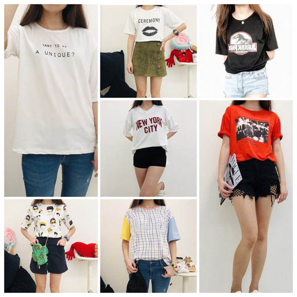 In Stock/Korean Style Casual Loose/Oversize T-Shirt/Casual Oversize Woman Tops Deals for only S$49.9 instead of S$49.9