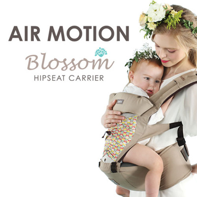 NEW KOREA TODBI Air Motion HipSeat Blossom All-In-One Infant Carrier 4 Color