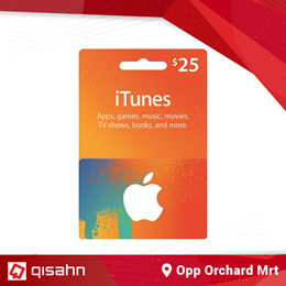iTunes Gift Card (USD25) // Top Up // Reload