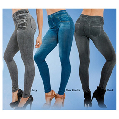 BLACK BLUE OR RIPPED STRETCH CARESSE JEANS SKINNY JEGGINGS  14//16    16//18