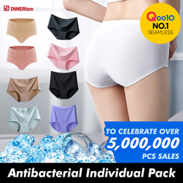 [𝗜𝗡𝗡𝗘𝗥𝗶𝘀𝗺] Seamless Panties / Qoo10 No.1 Seamless / Celebrate Over 5000000pcs Sales