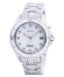 [Creation Watches] Seiko Sportura Kinetic Diamond Accent SKA881 SKA881P1 SKA881P Womens Watch
