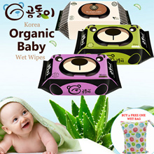 20 jan restocked Gomdoli ♥Premium Quality♥ Korean Organic Wet Wipes/ Wet Tissue / Made in Korea