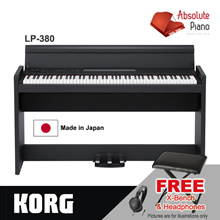[KORG] KORG LP-380 88 Key Digital Piano | KORG Piano | KORG Keyboard | KORG Arranger | Stage Piano