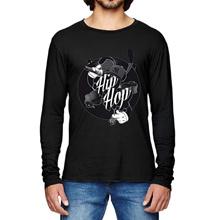 t shirt/kaos/long sleeve/lengan panjang/hip hop