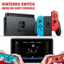 Nintendo Switch Neon or Grey Console // Local Set With 1 Year Maxsoft Warranty
