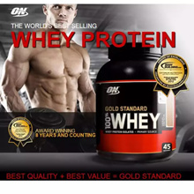 ON 100% Whey Gold Standard Protein 5lbs (227 kg) Double Rich Chocolate