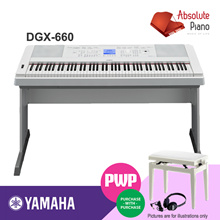 NEW!! Yamaha DGX-660 Contemporary Digital Piano | Digital Piano | Keyboard Piano | Piano Keyboard