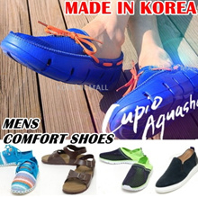 ★ Korea HIT★ Mens comfort shoes casual sneakers aqua water shoe sports sandals outdoor flip flop slippers unisex couple beach shoe casual driving men footwear cool KPOP 2014 summer sale