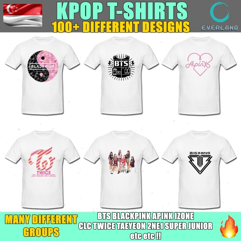 ★KPOP★ T-Shirts UNISEX★ CHEAP + 100 OVER DESIGNS ★ COTTON T-SHIRT★ FOR  GIFTS★ MANY DIFFERENT GROUPS