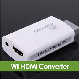 1080P 720P HD Wii to HDMI Converter Output Upscaling Adapter