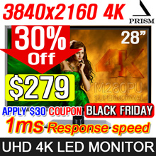 [MAKE $279] PRISM M280PU Supernormal UHD 4K LED Monitor / MADE IN KOREA / 1ms Response speed