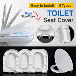 💪👍✔️🔥EASY TO INSTALL★★TOILET SEAT COVER★QUALITY★1-3DAYS DELIVERY★★SINGAPORE SELLER