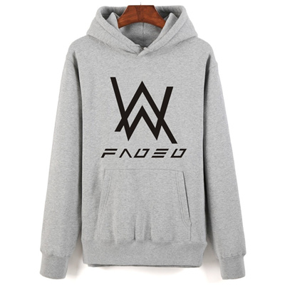 wholesale New Fashion 2017 Alan Walker Faded Hooded Sweatshirt Hip Hop DJ  Hoodies Unisex Plus Size B