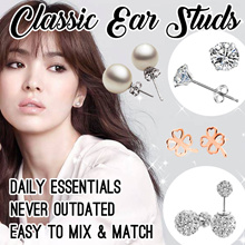 o Classic Ear Stud o Korean Style Earring o Pin / Jacket / Crawler / Studs  o Fashion Accessories