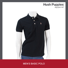 Hush Puppies Mens Knit Polo Short Sleeve | Without Pocket - HMP601363